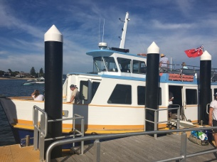The Palm beach ferry