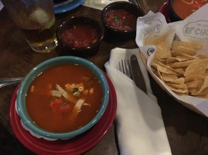 El Cholo tortilla soup