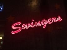 Swingers at night