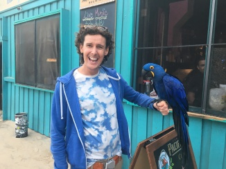 Me and a parrot